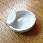 お玉立て 白磁 キッチン雑貨 白い陶器 ポーセリンアート ポーセラーツ