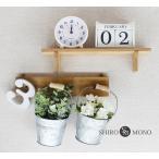 壁掛けA インテリア グリーン ホワイト ローズ セット 造花 ブリキ かわいい オシャレ