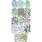 USA直輸入 カラーハトメ(3/16 サイズ)(寒色)( 同色20個セット)(全14色)