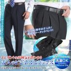 ウォッシャブル・ツータックスラックス【送料無料】 メンズ 春夏 クールビズ ややゆとりサイズ pants
