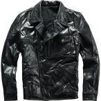 ショッピング本革 本革ジャケット バイク用レザージャケット メンズ  革ジャン 牛革  バイクジャケット バイクウェア ライダースジャケット