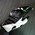 MONSTER ENERGY モンスターエナジー バイクグローブ サイクルグローブ 手袋 グローブ メンズ レザー 人気 街乗りに 頑丈 バイク用品 サイクル用 防寒防風