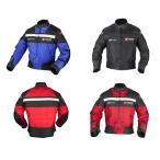 DUHAN バイクジャケット ナイロンジャケット バイクウエア レーシング ライディングジャケット 綿インナー付き プロテクター 防風 防寒 オールシーズ メンズ