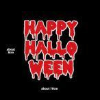 HAPPY HALLO WEEN ワッペン|総刺繍|横8×縦10cm ハロウィン オーナメント