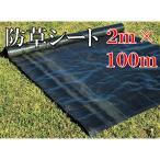 防草シート 2m×100m 雑草防止 除草シート 草よけシート 耐久年数3年〜4年