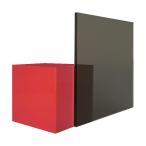 日本製 アクリル板 グレースモーク (押出板) 厚み 5mm 900×900mm ★縮小カット1枚無料 カンナ仕上★ (業務用)