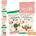 メイシーちゃん(TM)のおきにいり いちごミルクのボーロ(16g×4) 5個セット 創健社