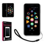 Palm Phone 専用 TPU 高透明 耐衝撃 衝撃吸収 ストラップ付 パームフォン クリア ケース カバー TPU ケース PalmPhone ソフト ケース