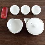 「白磁製 宝瓶(ほうひん)急須茶器セット」お茶の葉桐 玉露や上級煎茶に最適 選べるセット茶付 静岡のお茶屋