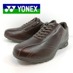 ヨネックス YONEX ウォーキング シューズ 靴 幅広 ダークブラウン メンズ MC30W 45E