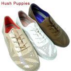 Hush Puppies ハッシュパピー L-4000-700-200-900 カジュアル レザー スニーカー シューズ レディース