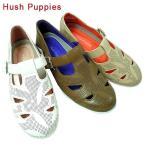 Hush Puppies ハッシュパピー L-4001-700-200-900 レザー カジュアル シューズ レディース