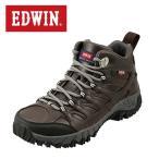 ショッピングトレッキングシューズ エドウィン EDWIN EDM-674P メンズ | ライトトレッキングシューズ | ミッドカット ハイカット | 生活防水機能 | ダークブラウン