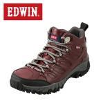 ショッピングトレッキングシューズ エドウィン EDWIN EDM-674P メンズ | ライトトレッキングシューズ | ミッドカット ハイカット | ハイキング アウトドア | ワイン