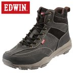 ショッピングトレッキングシューズ エドウィン  EDWIN ED-9121 メンズ | トレッキングシューズ | 大きいサイズ対応 小さいサイズ対応 | 雪靴 雨靴 防水 防滑 | ブラック