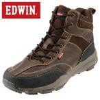 ショッピングトレッキングシューズ エドウィン  EDWIN ED-9121 メンズ | トレッキングシューズ | 大きいサイズ対応 小さいサイズ対応 | エドウィン 人気 | ダークブラウン