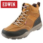 ショッピングトレッキングシューズ エドウィン  EDWIN ED-9121 メンズ   トレッキングシューズ   大きいサイズ対応 小さいサイズ対応   雪靴 雨靴 防水 防滑   キャメル