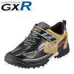 ジーエックスアール GXR JR-20312 ジュニア|ブラック×ゴールド|子供靴 運動靴