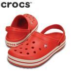 ショッピングサボ クロックス crocs 11016 W レディース | クロッグサンダル | crocband™ kids クロックバンド™  | フレイム×ホワイト