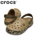 ショッピングサボ ポイント最大14倍 クロックス crocs 203171 W レディース | クロッグサンダル | ゴールド×ブラックレオパード