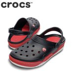 ショッピングサボ クロックス crocs 14300 メンズ|ブラックxレッド|クロッグサンダル