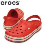 ショッピングサボ ポイント最大14倍 クロックス crocs 11016 M メンズ | クロッグサンダル | 大きいサイズ対応28.0cm | フレイム×ホワイト