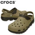 ショッピングサボ ポイント最大14倍 クロックス crocs 201398 M メンズ | クロッグサンダル | 大きいサイズ対応28.0cm | カーキ×エスプレッソ