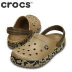 ショッピングサボ ポイント最大14倍 クロックス crocs 203171 M メンズ | クロッグサンダル | ゴールド×ブラックレオパード