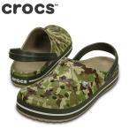 ショッピングサボ ポイント最大14倍 クロックス crocs 203191 M メンズ | クロッグサンダル | crocband™ camo clog | ダスティオリーブ