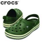 ショッピングサボ クロックス crocs 11016 M メンズ | クロッグサンダル | 大きいサイズ対応 28.0cm | フォレストグリーン×スタッコ