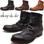 whoop'-de-doo' フープディドゥ ブーツ ショートブーツ 本革 ※(予約)とあるものは3営業日内に発送