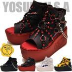 ショッピングブーツサンダル 予約販売 YOSUKE ヨースケ 厚底サンダル レディース ブーツサンダル