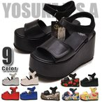 YOSUKE U.S.A ヨースケ スポーツサンダル ベルクロサンダル  イベント