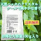 昭栄薬品 結晶メントール  薄荷脳  L-メントール 100g