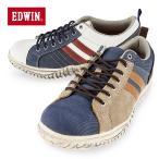 EDWIN エドウィン 341 LO ローカット メンズ カジュアル シューズ スニーカーデニムと好相性なカジュアル靴 EW-341LO