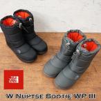 ザ ノース フェイス THE NORTH FACEヌプシブーティーウォータープルーフ III W Nuptse Bootie WP IIIレディース スノーブーツ アウトドア 防寒ブーツ