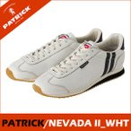PATRICK パトリック日本製  NEVADA2 ネバダ2  ホワイトメンズ  レディース レザースニーカーネバダ2 NEVADA2_ WH