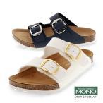 Yahoo!靴のシューマート【サマーバーゲン】 キッズ ジュニア 子ども コンフォート サンダル 2本ベルト イエロー 白 グリーンLSG-012R モノ MONO