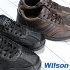ウォーキングシューズ メンズ ウイルソン 1706 黒 ダークブラウン 24.5cm〜27.0cm