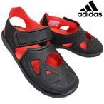 アディダス adidas DB0486 フォルタスイム2C コアブラック/ハイレゾレッド FortaSwim 2C キッズ アクアシューズ ウォーターシューズ スポーツサンダル
