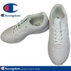 Champion チャンピオン M156 ホワイトスムース 白スニーカー 通学靴 スクールシューズ 3E 幅広 ワイド 合成皮革