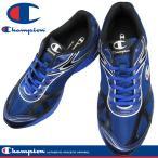Champion チャンピオン M156 ブルー/ネービー 3E 幅広 メンズ ランニングシューズ KF79305