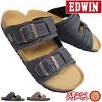 涼鞋 - EDWIN エドウィン 9128 オーク メンズサンダル
