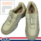 ショッピング処分 FILA VARONA フィラ ベロナ 2412 06 ベージュ/ピンク レディース スニーカー スリッポンシューズ 3E 軽量 7WJEW2412