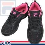 フィラ FILA3244 14 黒/ピンク レディース スニーカー 3E ランニングシューズ 幅広 軽量 7RJLR3244 fila 3244 黒靴