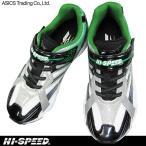 ショッピングジュニア asics trading HI-SPEED ジュニアランニングシューズ HJ-397 シルバー 3E幅 アシックス商事 子供靴 スニーカー ハイスピード HJ397 軽量 キッズ
