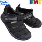 イフミー IFME キッズサンダル 20-1317 キッズ グレー ブラック 15.0cm〜21.0cm