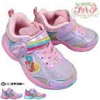 ヒーリングっどプリキュア 4221 ピンク・パープル キッズ シューズ スニーカー 子供靴 運動靴 マジックテープ 女の子 プリキュア靴