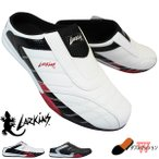 ラーキンス LARKINS L-6339 ホワイト/ブラック ブラック メンズ サボサンダル クロッグサンダル シューズ 靴 履きやすい靴