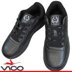 VICO ヴィーコ V-7278 ブラック 黒靴 スニーカー レディース コートタイプスニーカー V7278 ユニフォームシューズ